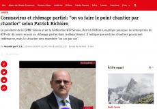 Interview Patrick Richiero – Dauphiné Libéré – 23-03-2020