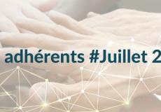 Nos nouveaux adhérents #Juillet 2021
